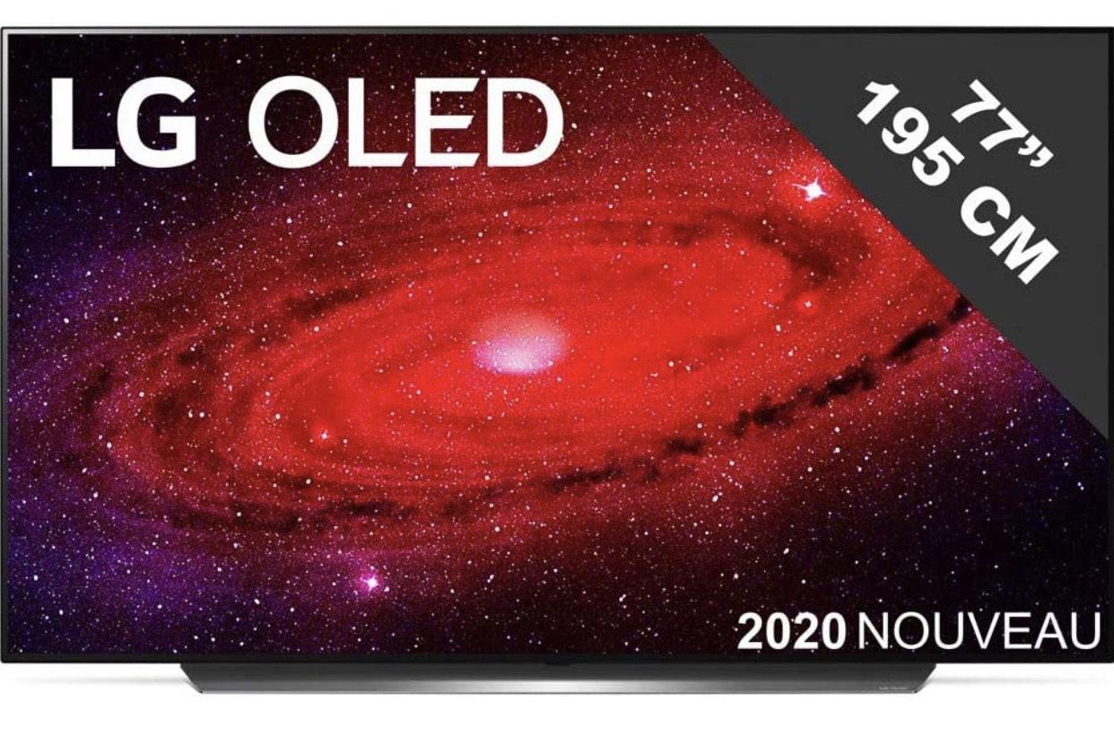 "TV 77"" LG OLED77CX 2020 - OLED, 4K UHD, 100Hz, Dolby Atmos/Vision"