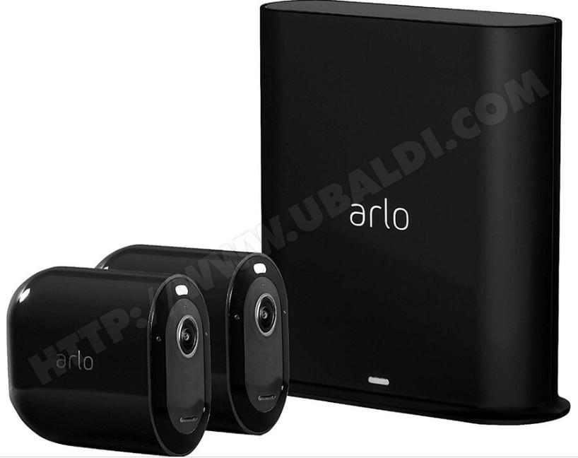 Kit de 2 Caméras de surveillance Arlo Pro 3 VMS4240B - Noir