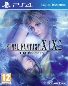 Final Fantasy X/X-2 Remastered sur PS4