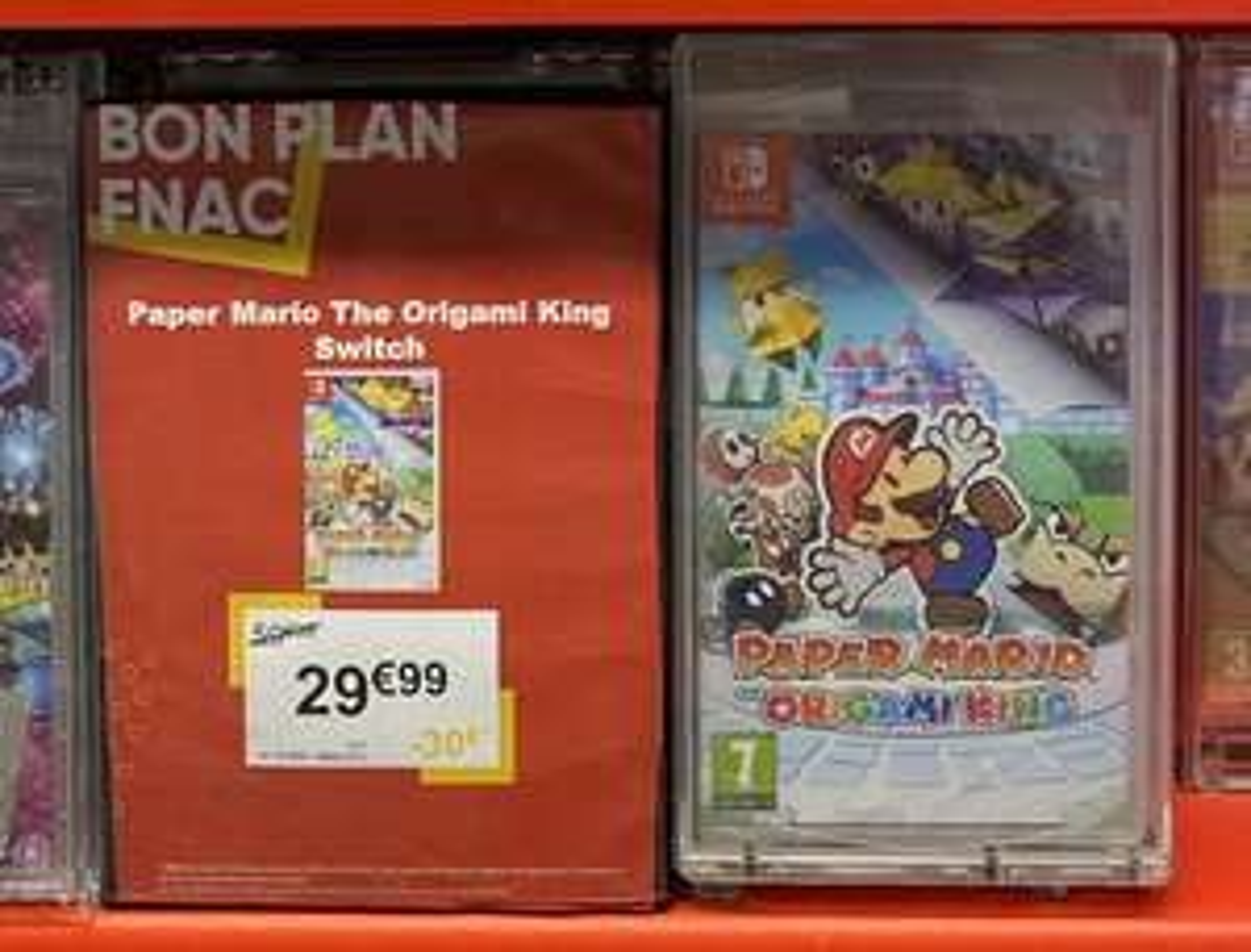 Paper Mario Origami King sur Nintendo Switch - Lyon Bellecour (69)
