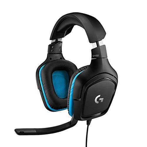 Casque gaming filaire 7.1 Logitech G432 - Bleu