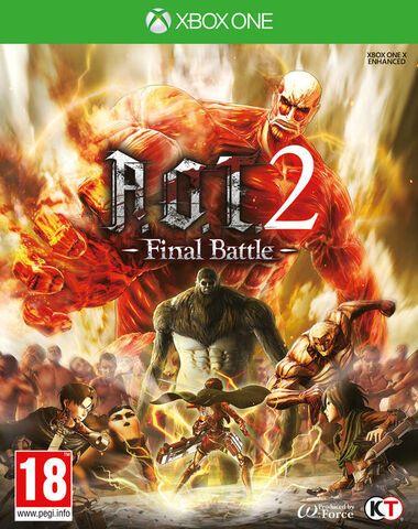 A.O.T. 2: Final Battle sur Xbox One (Dématérialisé - Store Br)