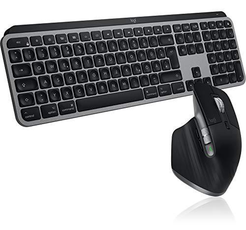 Pack souris Logitech MX Master 3 + clavier Logitech MX Keys (QWERTZ)