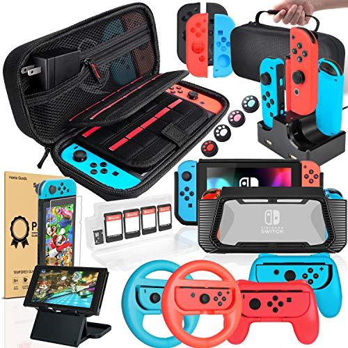 Pack de 18 accessoires pour Nintendo Switch (Vendeur tiers)