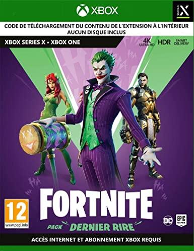 DLC Fortnite - Pack Dernier rire sur Xbox & PS4/PS5