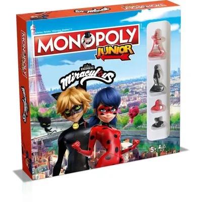 Jeu de société Monopoly Junior - Miraculous Ladybug
