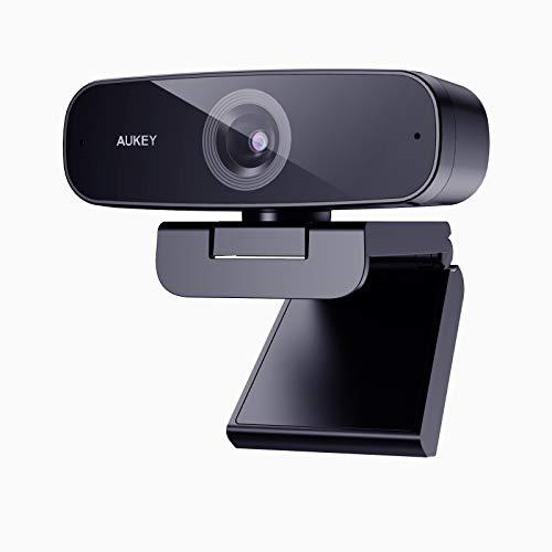 Webcam Aukey - 1080p, 2 Mpix, microphones stéréo (vendeur tiers)