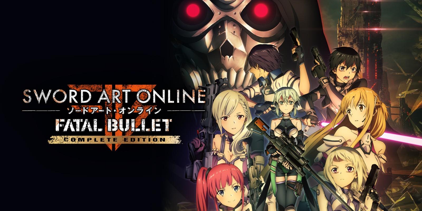 Jeu Sword Art Online : Fatal Bullet Complete Edition sur Nintendo Switch (Dématérialisé)