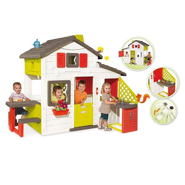 Jouet Smoby - Maison Friends house + cuisine été (Via Retrait en Magasin)