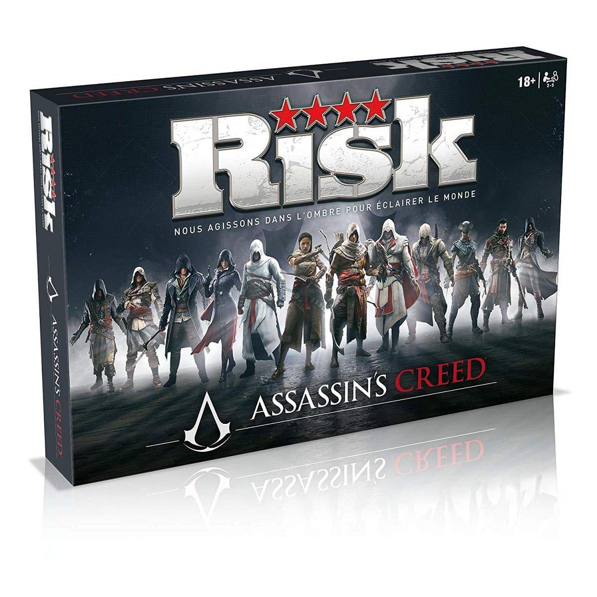 Jeu de Société Winning Moves Risk - Assassin's Creed