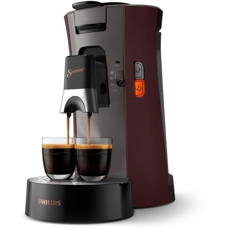 Cafetière à dosettes Philips Senseo Select CSA240/81 + 15.50€ en bons de réduction (+ 4.5€ en Rakuten Points, via ODR de 15.5€) - Boulanger