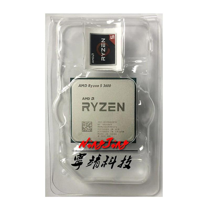 Processeur AMD Ryzen 5 3600 (sans ventirad)