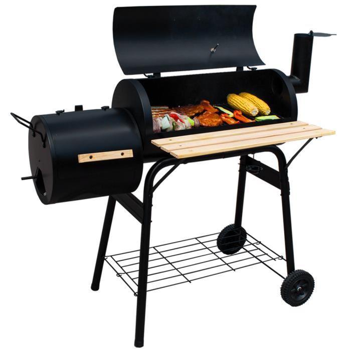 Barbecue, Grill, Fumoir, Smoker Américain XXL Tectake