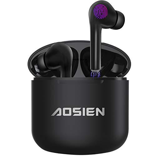 Écouteur sans-fil Aoslen - Bluetooth 5.0, Contrôle Tactile (Vendeur tiers)