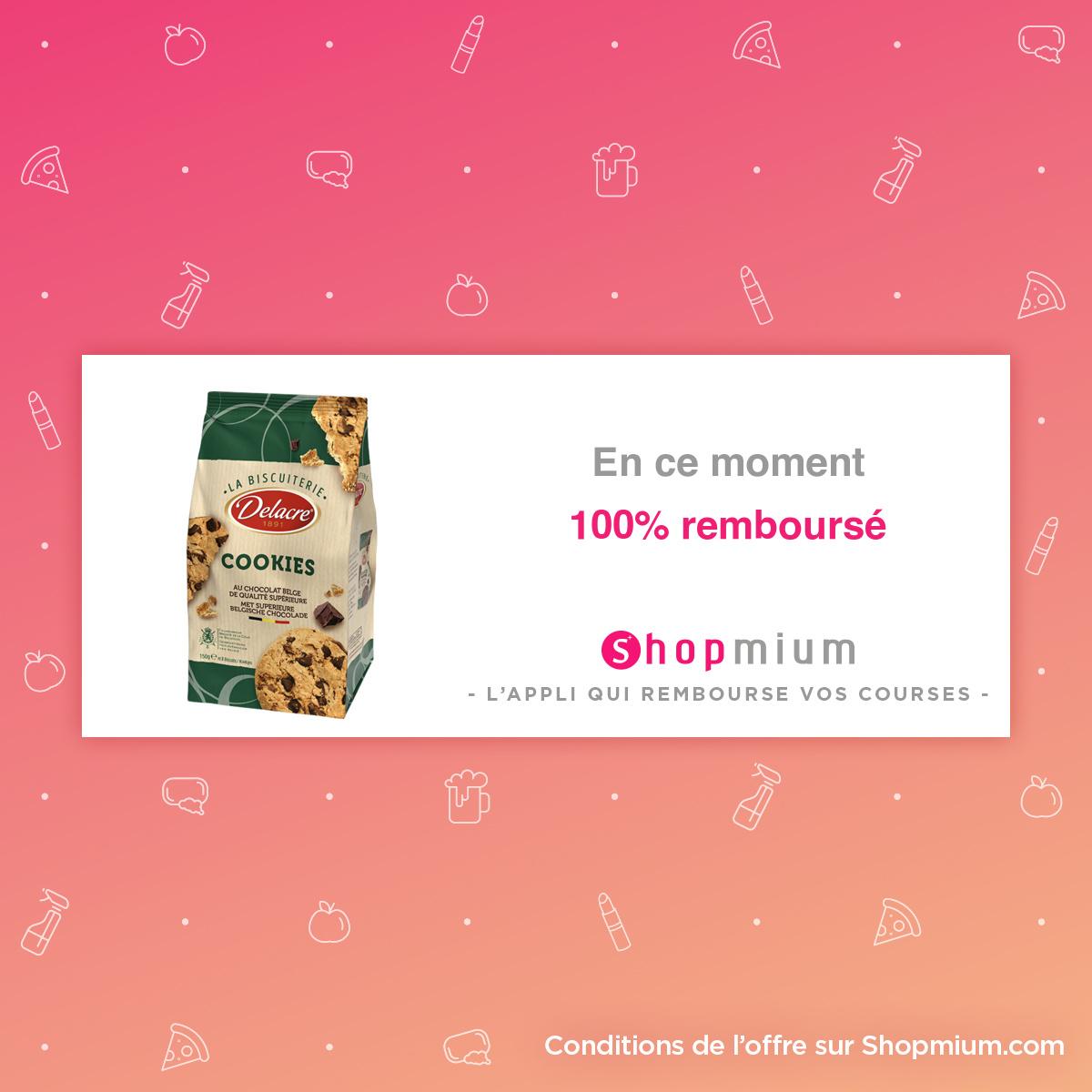 La Biscuiterie Delacre 100% remboursé (Via l'Application)