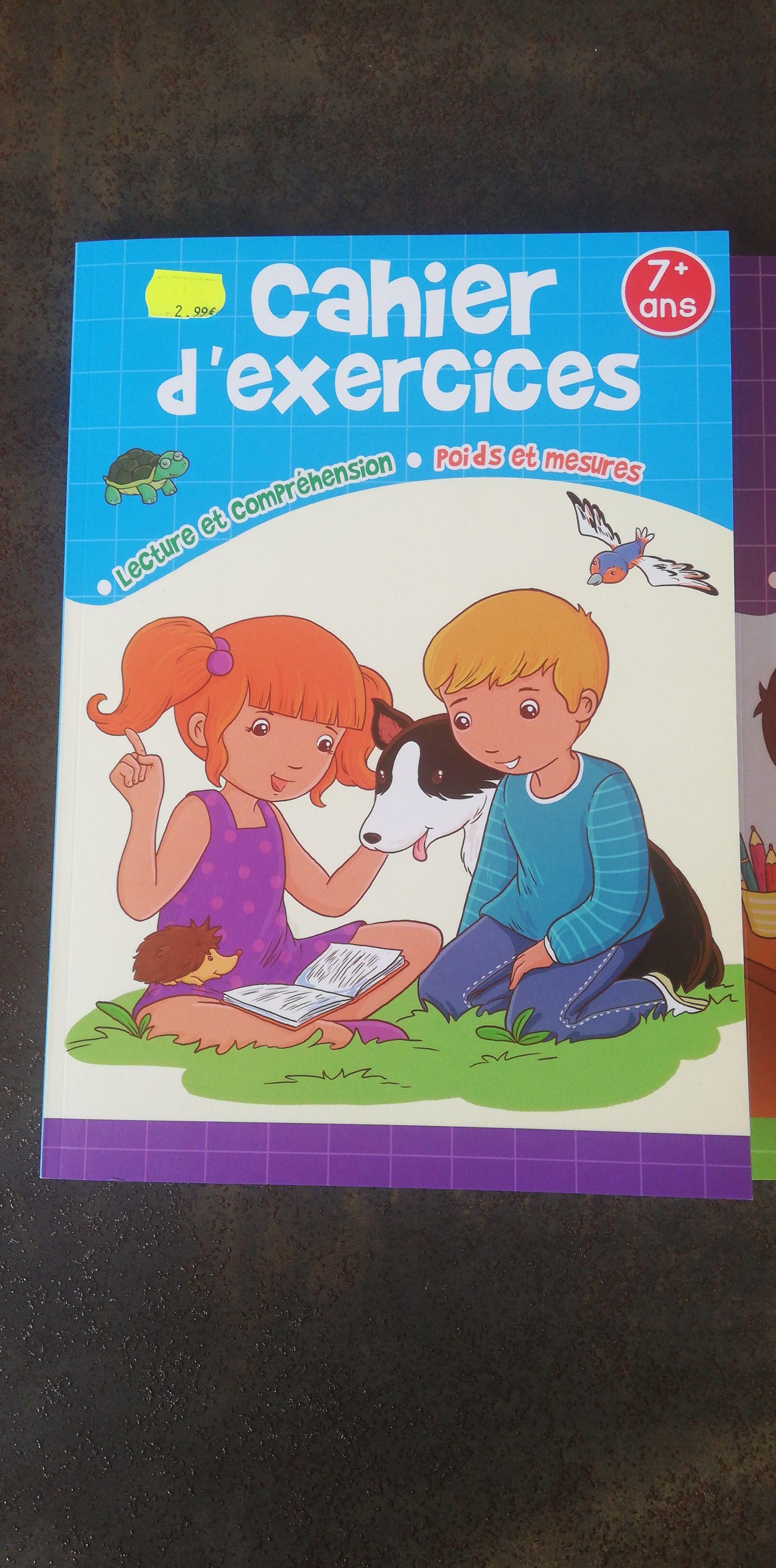 Cahier d'exercices Bout'chou pour Enfant