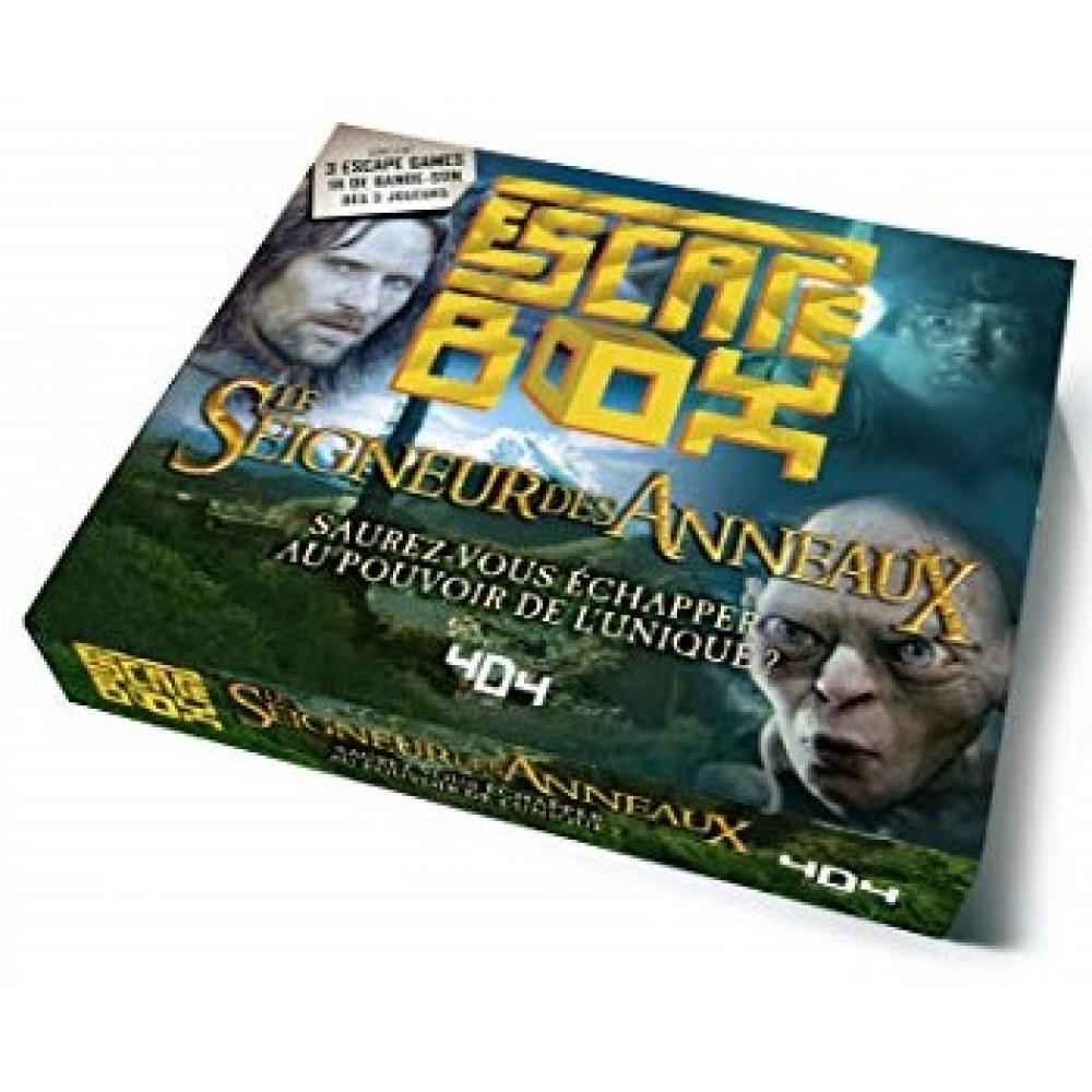 Sélection de jeux de société en promotion - Ex : 404 Éditions Escape Box Le Seigneur des Anneaux