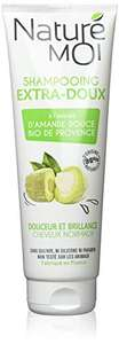 Flacon de shampooing Naturé Moi Extra-Doux à l'extrait d'amande douce de Provence bio - 250 ml