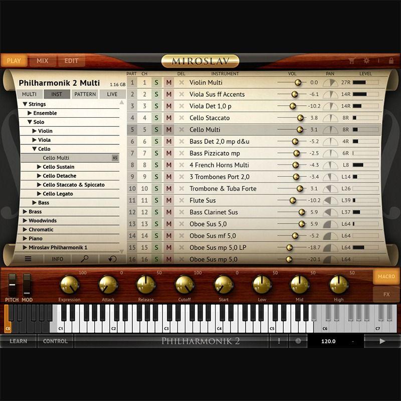 Orchestre virtuel Miroslav Philharmonik 2 - IK Multimedia (Dématérialisé - Blackoctopus-sound.com)