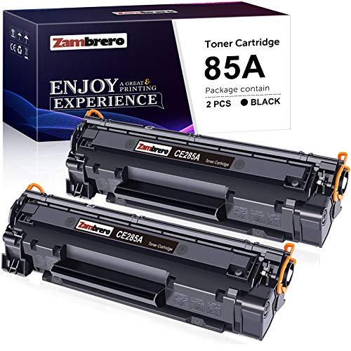 Lot de 2 Toners noir Zambrero compatible CE285A 85A pour HP Laserjet Pro (Vendeur tiers)