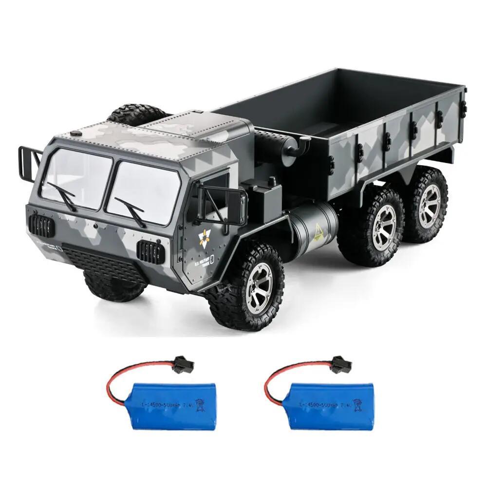 Camion radiocommandé RC Eachine EAT01 - 1/16, 2.4G, 4CH, 6WD, 15 km/h + 2 Batteries (Entrepôt Espagne)