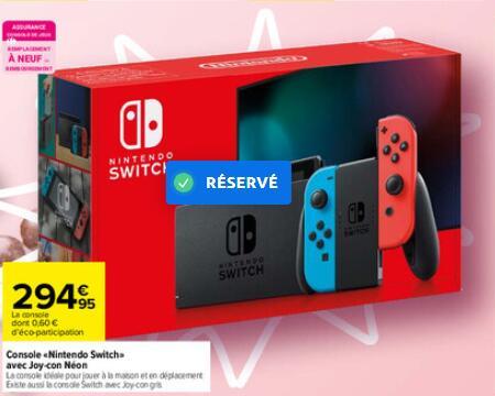 Console Nintendo Nintendo Switch V2 - Grise