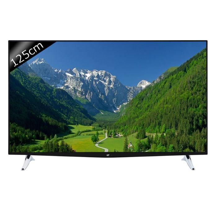 """TV 48"""" Continental Edison 48K0316B3 - Smart TV, LED, UHD 4K, 125cm"""