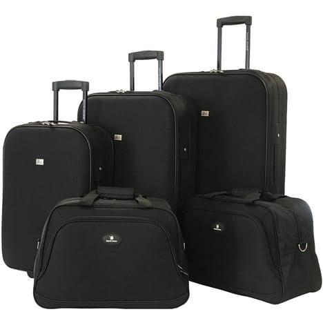Ensemble David Jones : 3 valises (73 cm + 65 cm + 54 cm) + 2 reporters (vendeur tiers)