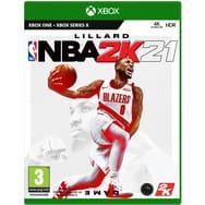 NBA 2K21 sur Xbox One ou PS4 (Via Retrait magasin)