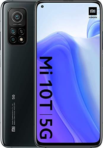 "Smartphone 6.67"" Xiaomi Mi 10T - 6 Go RAM, 128 Go, Noir"