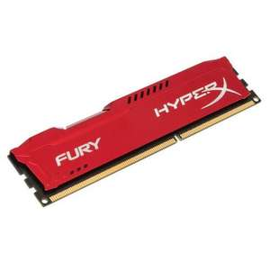 Barette mémoire DDR3 Kingston HyperX Fury RED Series 8 Go - 1866 MHz, Cas 10