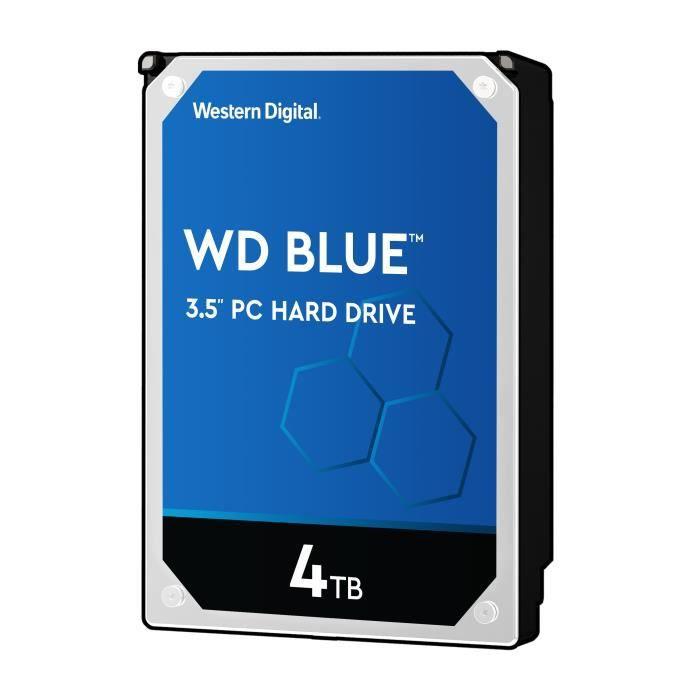 "Disque dur interne 3.5"" Western Digital Blue (WD40EZRZ) - 4 To"
