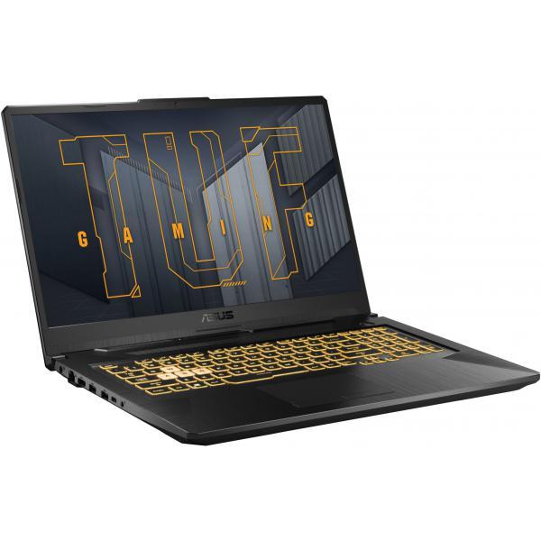 PC portable gamer Asus TUF A17-TUF766QR-HX039 - FHD 144 Hz, R7-5800H, RTX-3070, 16 Go RAM, 512 Go SSD, sans OS (1469,99€ via SQUEEZIE30)