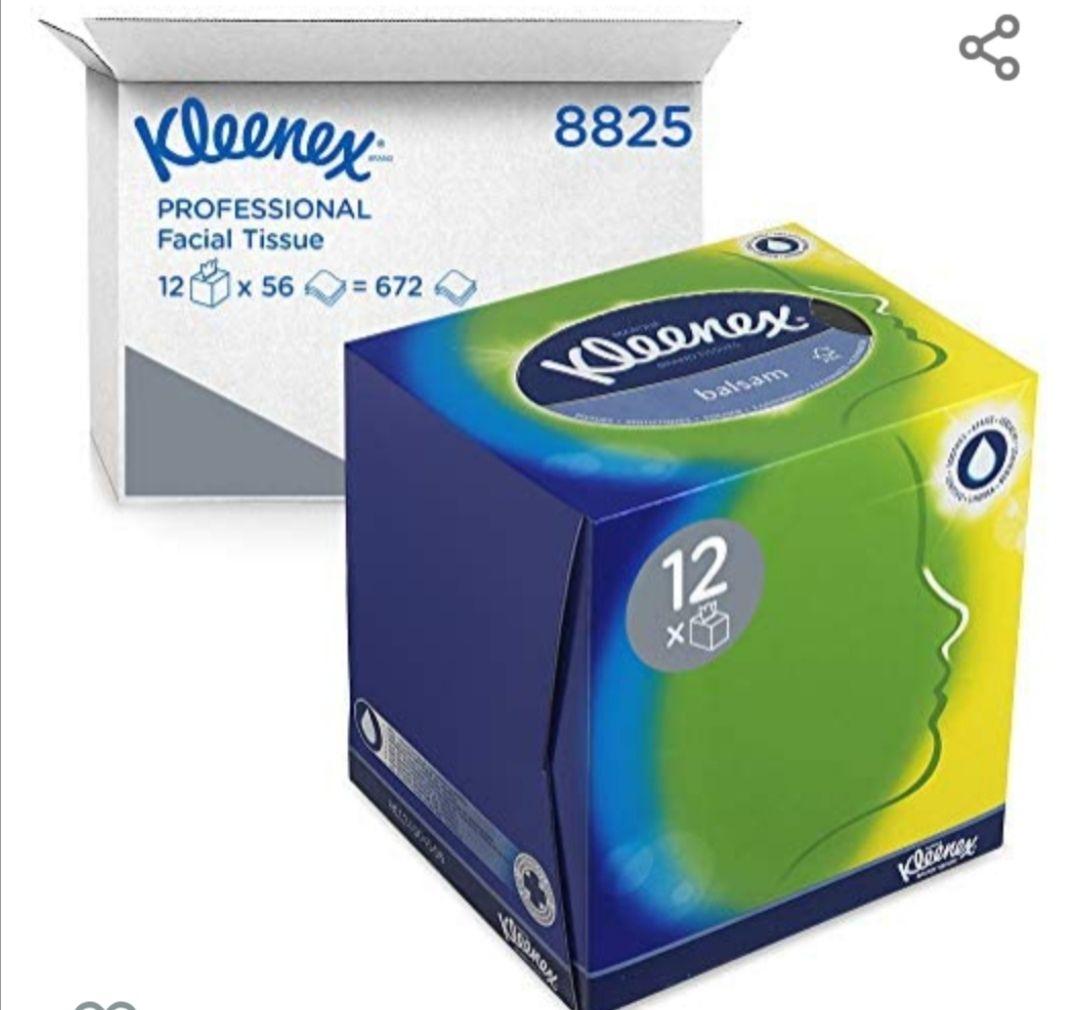 Lot de 12 boîtes de Mouchoirs en papier Kleenex
