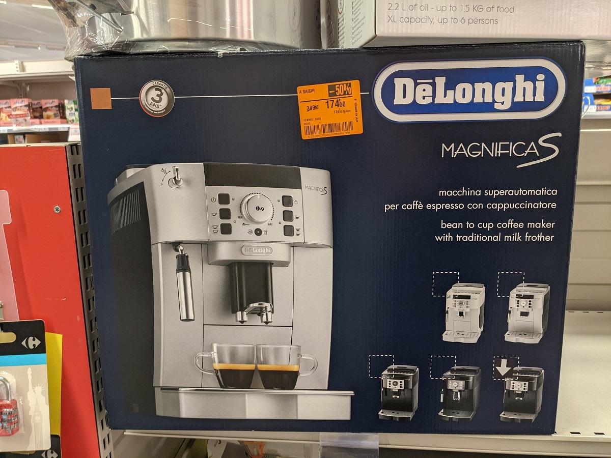 Machine à café DeLonghi Magnifica S - Saint-Germain-en-Laye (78)