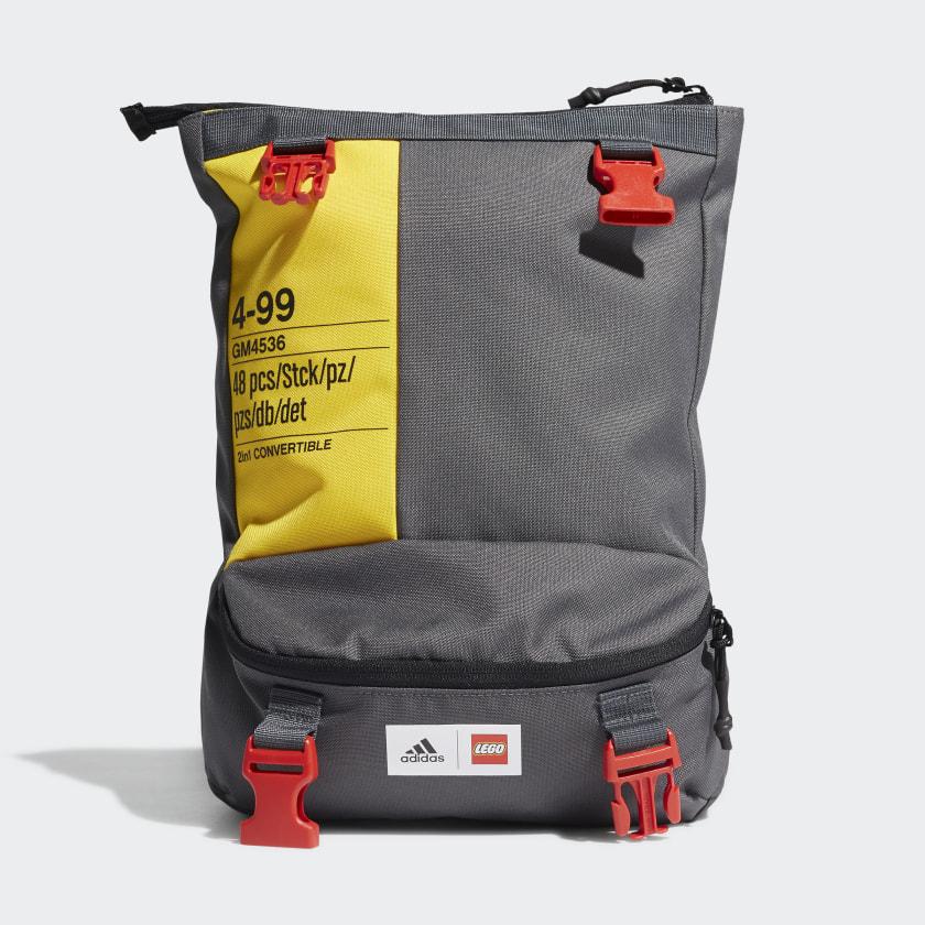 Sac convertible en sac a dos / sac banane pour enfant adidas X Classic Lego Two-in-One (via l'application)