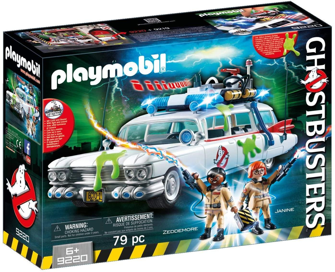 Jouet Playmobil - L'Ecto-1 Ghostbusters 9220 (20.79€ avec le code APP10)
