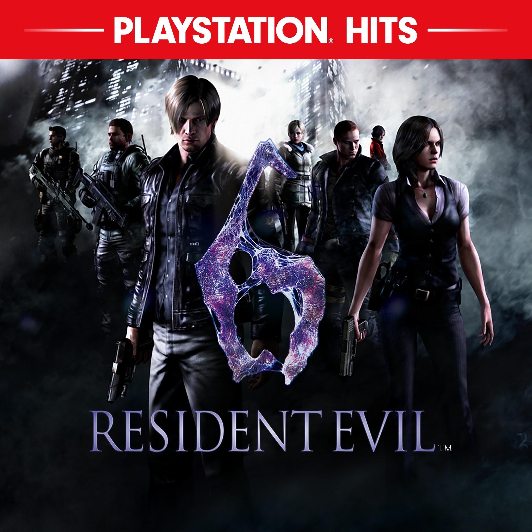 Jeu Resident Evil 6 sur PS4 (Dématérialisé)