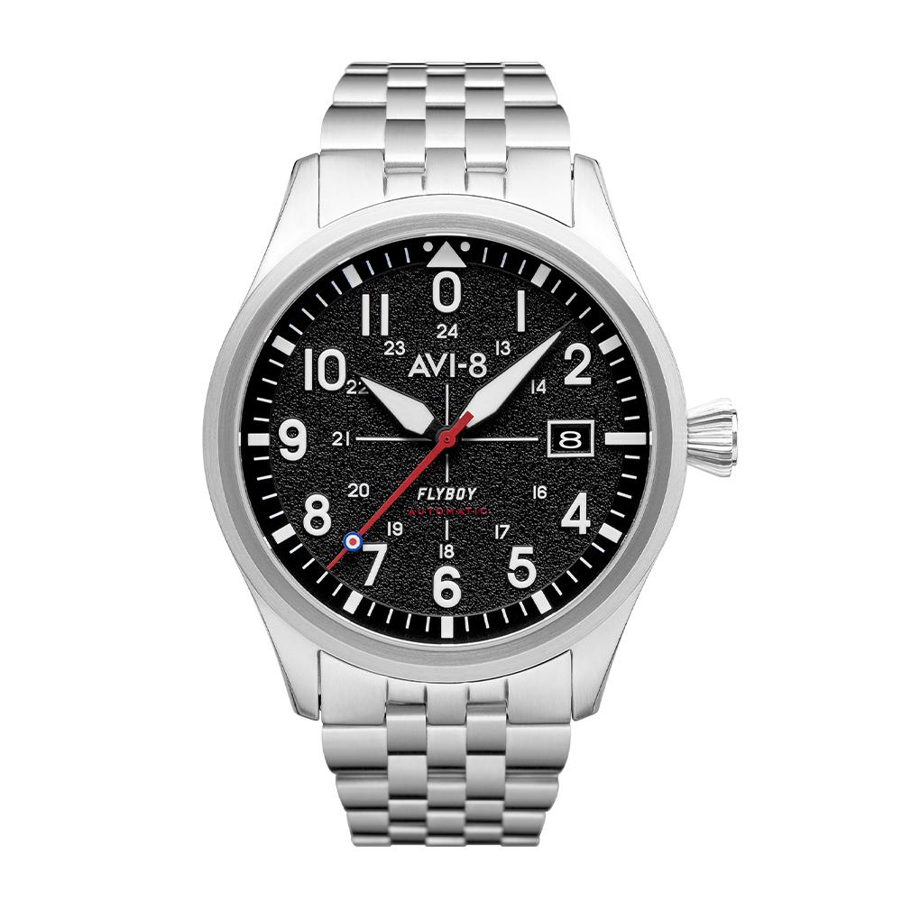 Selection montres automatiques AVI-8 et Spinnaker en promotion - Ex: Montre AVI-8 4075, mouvt Seiko / saphir
