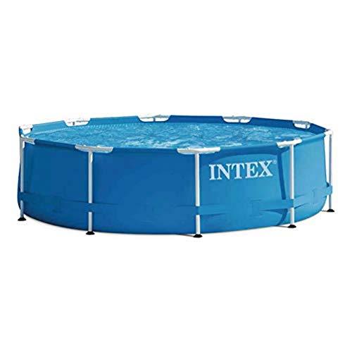 Kit piscine Intex Metal Frame ronde - 3,05 x 0,76 m, avec système de filtre à cartouche