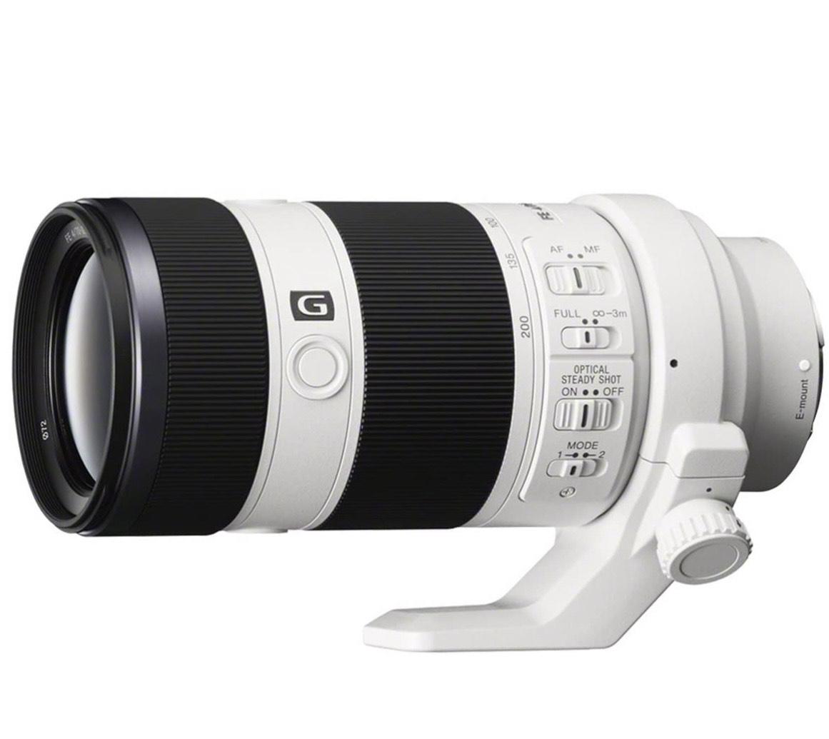 Objectif photo Sony G Sel-70200G Monture E Plein Format 70-200 mm F4.0 (seul)