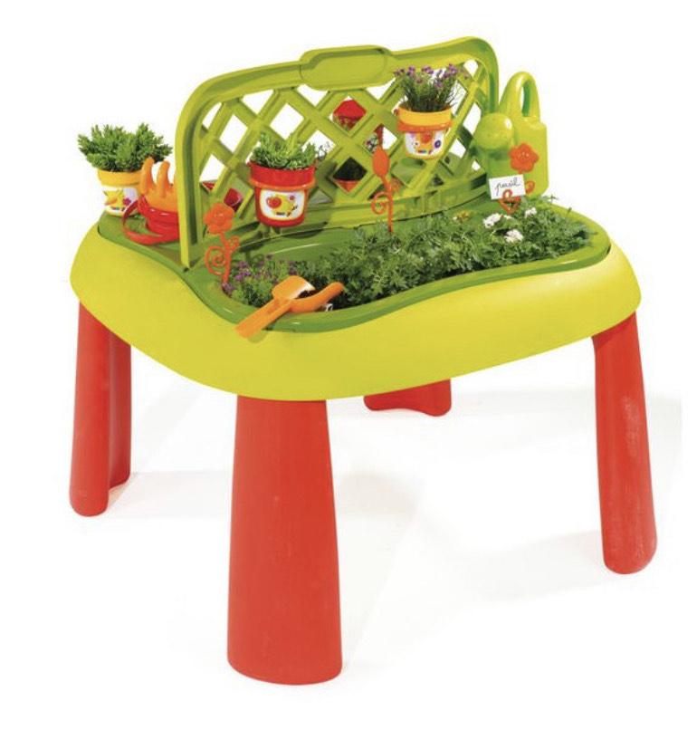 Table de jardinage Smoby + 15 accessoires