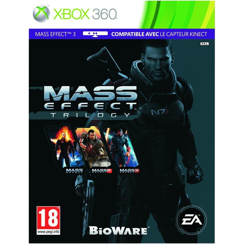 Mass Effect Trilogy sur PC à 16.29€ et sur XBOX 360