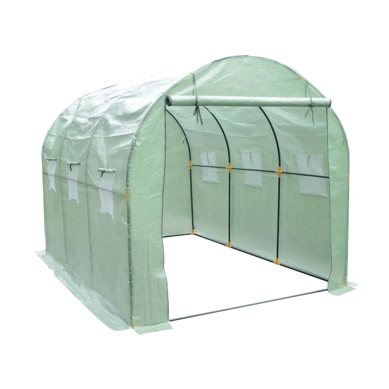 Grande serre de jardin tunnel Gardenline