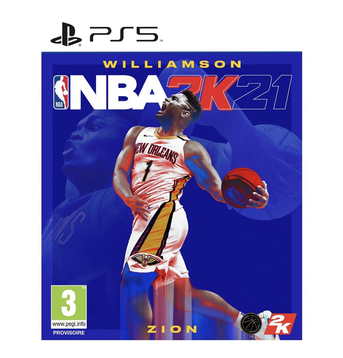 Jeu NBA 2k21 sur PS5