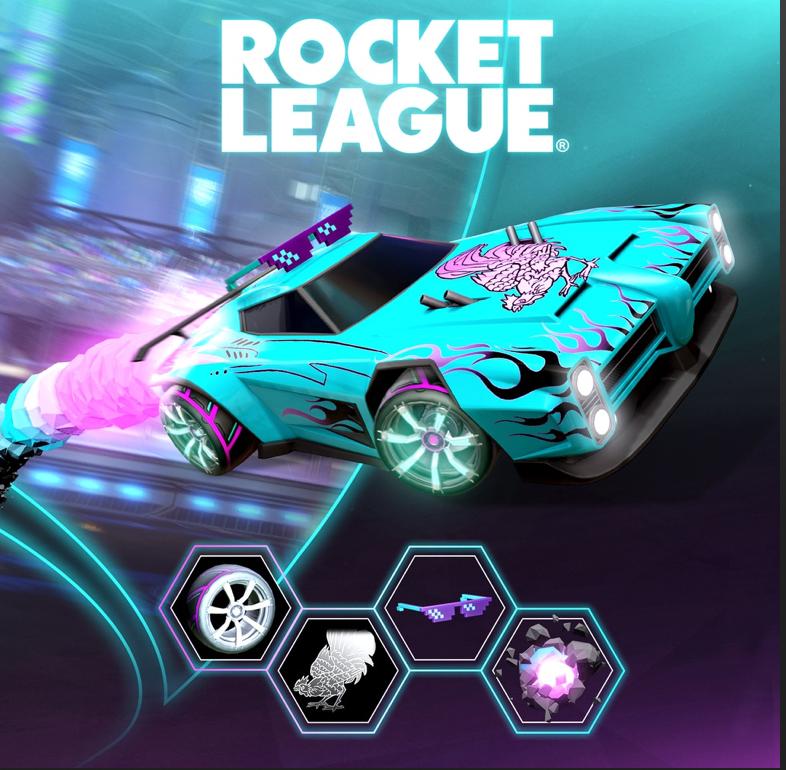 [PS+] Contenu numérique : Pack offert dans Rocket League (Dématérialisé)