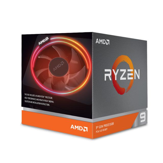 Processeur AMD Ryzen 9 3900X Wraith Prism LED RGB - 3,8/4,6 GHz (409.47€ avec le code SQUEEZIE30)