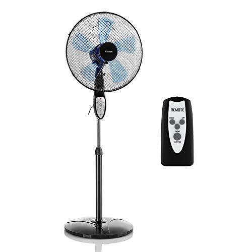 Ventilateur sur pied Klarstein Summerjam - 3 vitesses, 41 cm, Blanc (Vendeur Tiers)