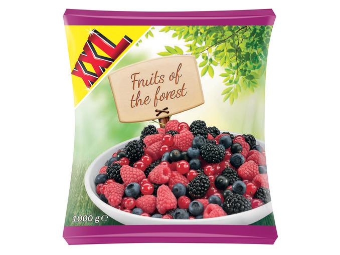 Sachet XXL de mélange de fruits rouges congelés - 750G