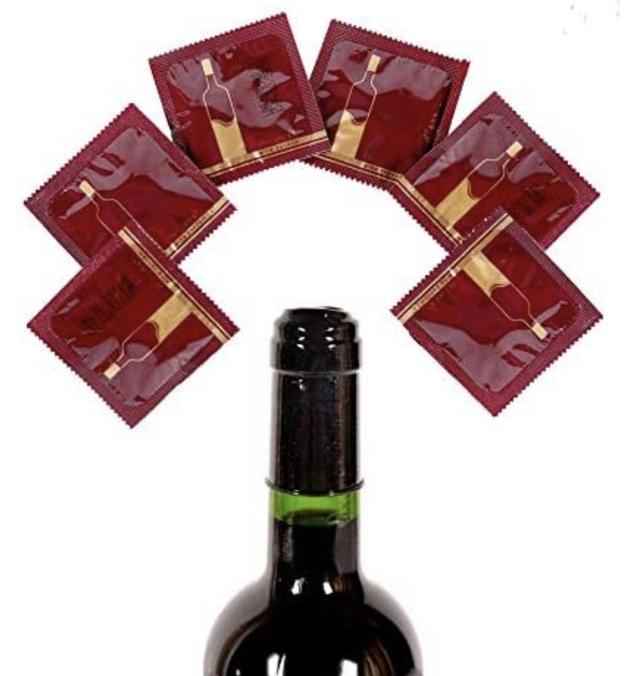 Lot de 6 Préservatifs Posuri pour Bouteilles de Vin (Via Coupon - Frais de Livraison Inclus - Vendeur TIers)